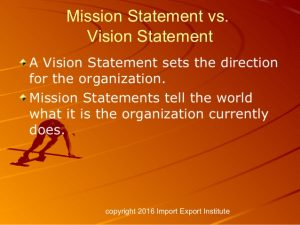 Global Mission Statement
